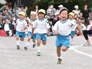 旭幼稚園での生活